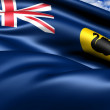 Stock Photo: Flag of Western Australia