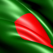 Royalty-Free Stock Photo: Flag of Bangladesh