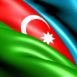 Flag of Azerbaijan — Stock Photo #7844516