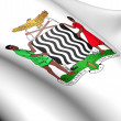 Zambia coat of arms — Stock Photo #7949682