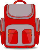 School bag for kid — Stock Vector
