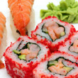 Rolls and sushi close-up — Foto de Stock