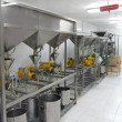 Stock Photo: Extraction of oils in factory