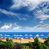 Tropical beach resort — Foto Stock