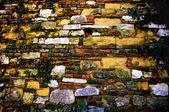 Close-up vintage brick wall — Stock Photo