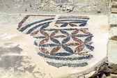 在 kourion,塞浦路斯古代马赛克 — 图库照片