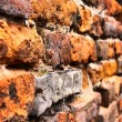Stock Photo: Close-up vintage brickwall