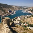 Balaklava bay, Crimea, Ukraine - Stock Photo