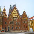 Town Hall in Wroclaw - Stock Photo