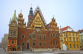 Town hall, em wroclaw — Fotografia Stock