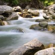 Cascade in Carpathians — Stock Photo