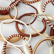 Various elastic band - Foto Stock
