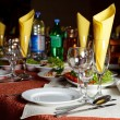 Restourant's table - Foto Stock