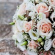 Wedding bouquet outdoor - Stock Photo