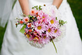 Wedding bouquet with dill — Stock Photo