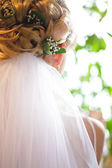 Wedding hairstyle — Stock Photo