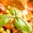 Minestrone soup - Stock Photo