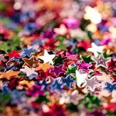 Christmas stars background — Stock Photo