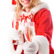 Santa girl — Stock Photo #6930198