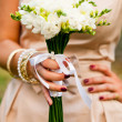 Wedding freesias — Stock Photo