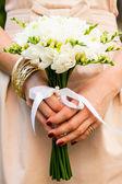 Wedding freesias — Stock Photo