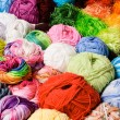 Stock Photo: Color threads