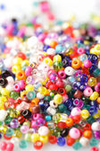 Beads background — Stock Photo