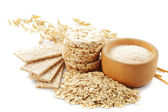 Oat products — Stock Photo