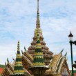 Detail of Grand Palace in Bangkok, Thailand — Photo