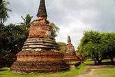 Pagoda en el templo wat chaiwattanaram — Foto de Stock