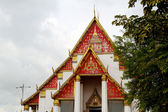 King Palace Wat mongkolpraphitara in Ayutthaya, Thailand — Stock Photo