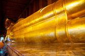 仏リクライニング、ワットポー、バンコク、タイ — ストック写真