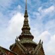 Detail of Grand Palace in Bangkok, Thailand — Stock Photo