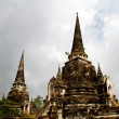 Pagoda at Wat Chaiwattanaram Temple, Ayutthaya, Thailand — Photo