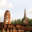 Pagoda at Wat Chaiwattanaram Temple, Ayutthaya, Thailand — Stock Photo