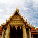 Detail of Grand Palace in Bangkok, Thailand — Stock Photo