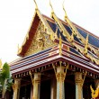 Stock Photo: Detail of Grand Palace in Bangkok, Thailand