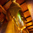 Reclining Buddha, Wat Pho, Bangkok, Thailand — Stock Photo