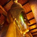 Reclining Buddha, Wat Pho, Bangkok, Thailand — Stock Photo #7483048