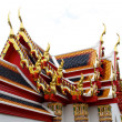 Thailand Bangkok Wat Arun temple detail — Stock Photo