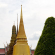 Golden pagoda in Grand Palace Bangkok Thailand — Stock Photo