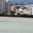 PATTAYA - SEPTEMBER 10 : Pattaya-city birds view September 10, — Stock Photo
