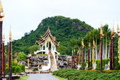 Nongnooch Tropical Botanical Garden, Pattaya — Stock Photo
