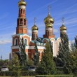Omsk, the Christ Cathedral of the Nativity — Stock Photo