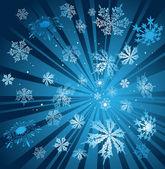 Blu d'inverno, illustrazione vettoriale — Vettoriale Stock