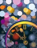 New year — Vettoriale Stock