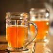 Royalty-Free Stock Photo: Two beer mugs