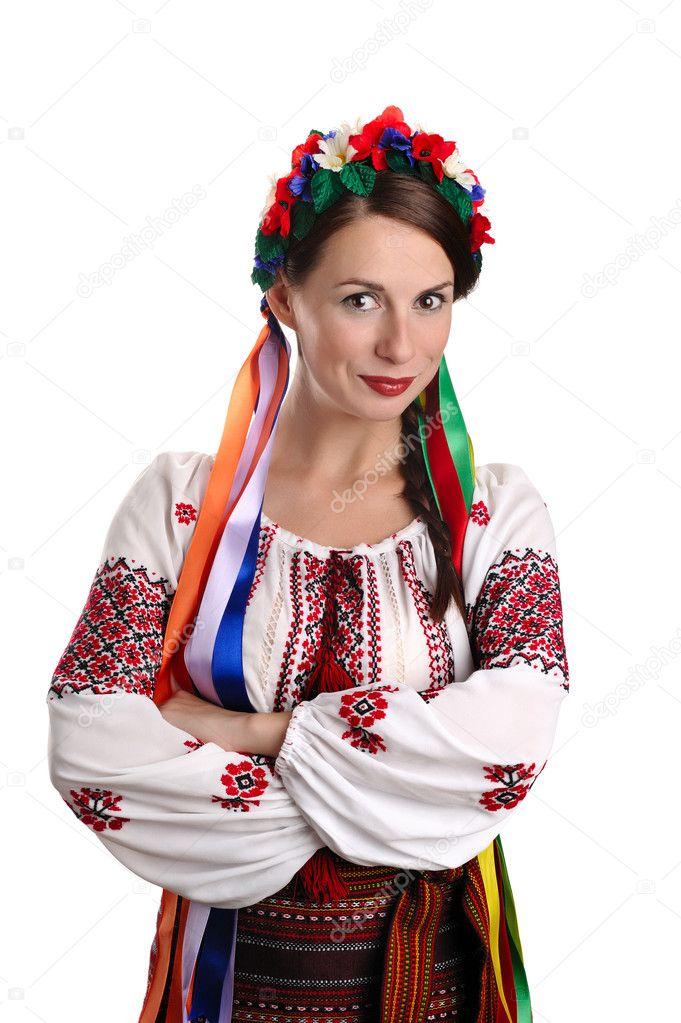 украинские девушки рисунки