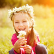 Portrait of a little girl — Stock Photo #6947434