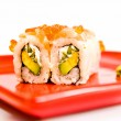 Japanese sushi — Stock Photo